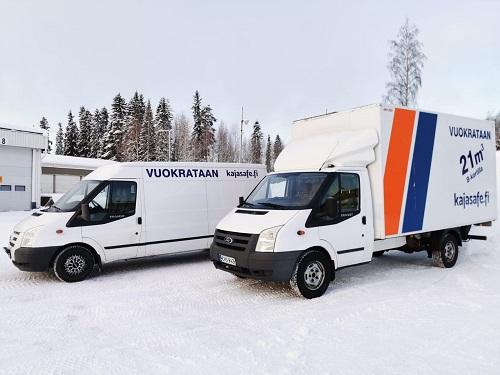 Autojen vuokraukset, muutto sekä kuljetuspalvelut